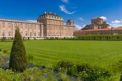 The Royal Palace of Venaria Royalty Free Stock Images