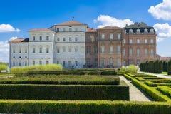 The Royal Palace of Venaria Stock Photography