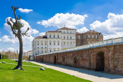 The Royal Palace of Venaria Royalty Free Stock Photo