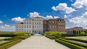 The Royal Palace of Venaria Stock Image