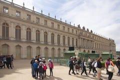 Royal Palace Versailles królewska siedziba Paryż Francja Obraz Stock