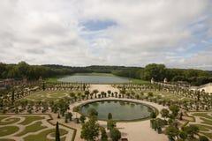 Royal Palace Versailles królewska siedziba Paryż Francja Zdjęcia Royalty Free