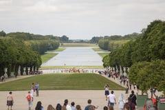 Royal Palace Versailles królewska siedziba Paryż Francja Obraz Royalty Free