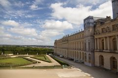 Royal Palace Versailles królewska siedziba Paryż Francja Zdjęcia Stock