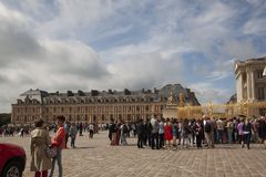 Royal palace versailles royal residence paris france Stock Image