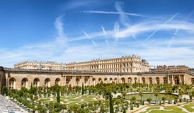 VERSAILLES, FRANCE The Royal Palace in Versailles Royalty Free Stock Photography