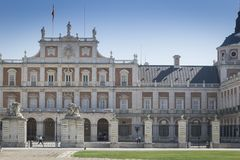 Royal Palace von Aranjuez in Madrid Stockbilder
