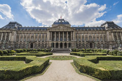 Royal Palace von Brüssel in Belgien Lizenzfreie Stockbilder