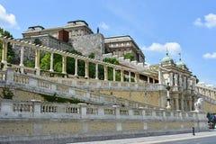 Royal Palace von Budapest, Ungarn Stockbilder