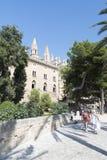 Royal Palace von La Almudaina, Palma de Mallorca Lizenzfreie Stockfotografie