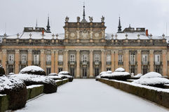 Royal Palace von La Granja de San Ildefonso, Segovia, Spanien Lizenzfreie Stockbilder