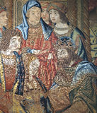 Royal Palace von La Granja de San Ildefonso in Segovia, Spanien Lizenzfreie Stockfotografie
