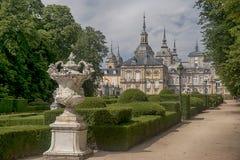 Royal Palace von La Granja de San Ildefonso, Spanien Stockbild