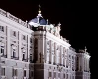 Royal Palace von Madrid Stockbild