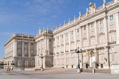Royal Palace von Madrid Lizenzfreie Stockfotos