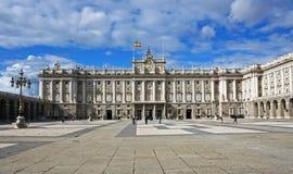 Royal Palace von Madrid, Spanien Lizenzfreies Stockbild