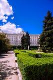 Royal Palace von Madrid lizenzfreie stockfotos