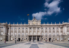 Royal Palace von Madrid u. von x28; Palacio Real de Madrid& x29; Lizenzfreies Stockfoto