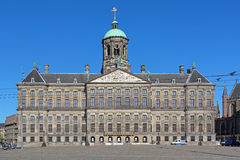 Royal Palace w Amsterdam, holandie Fotografia Royalty Free
