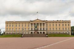 Royal Palace w Oslo Obraz Royalty Free