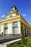 Royal Palace w Warszawa Wilanow Zdjęcia Royalty Free