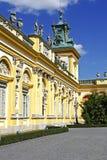 Royal Palace w Warszawa Wilanow, Polska Obrazy Royalty Free