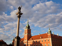 Royal Palace Warsaw Stock Images