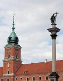 Royal Palace Warsaw Stock Photography
