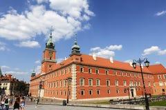 Royal Palace, Warsaw Stock Photo