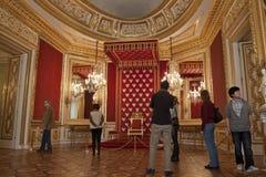 Royal palace in Warsaw inside Royalty Free Stock Photos