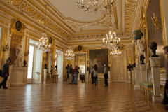Royal palace in Warsaw inside Royalty Free Stock Photography
