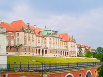 Royal palace, Warsaw, Poland Stock Photos