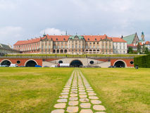 Royal palace, Warsaw, Poland Stock Images