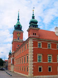 Royal palace, Warsaw, Poland Royalty Free Stock Photos