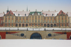 Royal palace, Warsaw, Poland Royalty Free Stock Photography