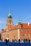 Royal Palace, Warsaw Royalty Free Stock Photography