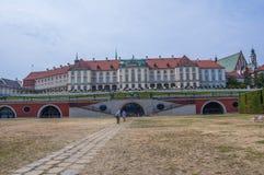 Royal Palace Warsaw Stock Images