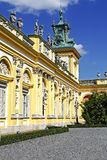 Royal Palace in Warsaw's Wilanow, Poland Royalty Free Stock Images