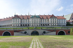Royal Palace in Warsaw. Stock Image