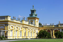 Royal Palace, Warsaw, Wilanow, Poland Royalty Free Stock Image