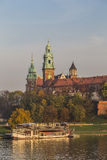Royal Palace on Wawel Hill Stock Photos