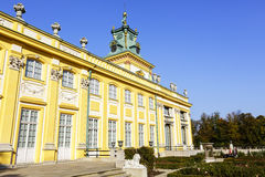 Royal Palace, Wilanow, Poland Royalty Free Stock Photos