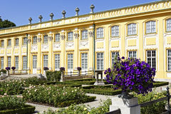 Royal Palace in Wilanow, Warsaw, Poland Royalty Free Stock Photos