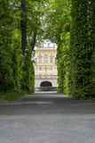 Royal Palace Wilanow in Warsaw, Poland. Landmark of Wilanow palace and garden in Warsaw, Poland Royalty Free Stock Images