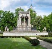 Royal Palace Wilanow in Warsaw, Poland. Landmark of Wilanow palace and garden in Warsaw, Poland Stock Images