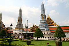 Royal Palace zone in Bangkok Royalty Free Stock Image