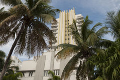 Royal Palm Hotel in Miami South Beach Royalty Free Stock Image