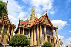 The Royal Pantheon, Prasat Phra Dherbidorn in Bangkok, Thailand Royalty Free Stock Photography