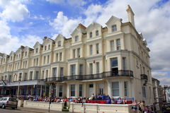 Royal Parade hotels Eastbourne  England Royalty Free Stock Photo