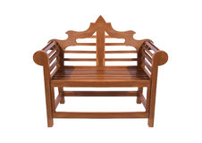 Royal park bench Royalty Free Stock Image